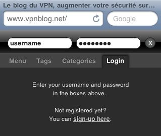 Le blog du VPN sur Iphone 2