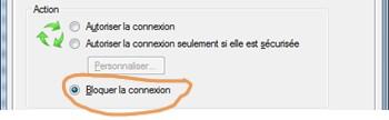 Configurer pare-feu Windows contre deconnexions VPN 2