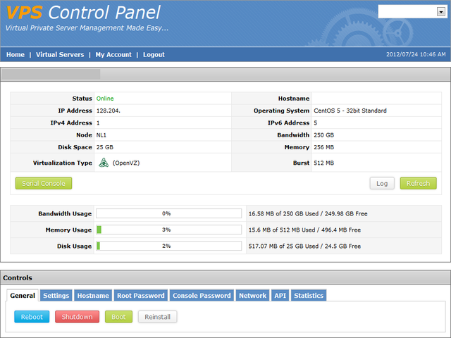 OpenVPN sur VPS - Centos 5 2