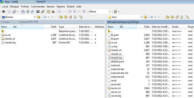 OpenVPN sur VPS - Centos 5 22