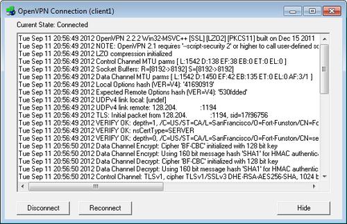 OpenVPN sur VPS - Centos 5 40
