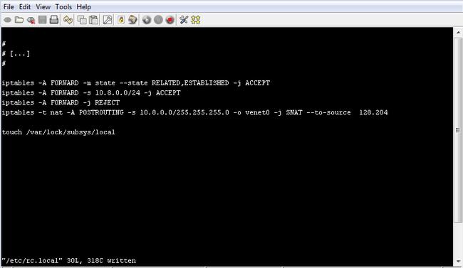 OpenVPN sur VPS - Centos 5 32