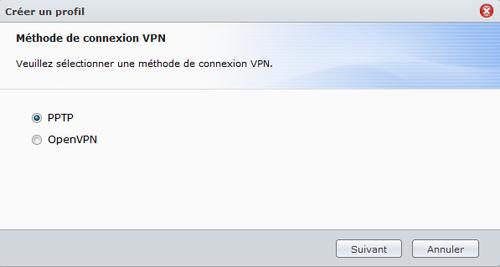 VPN PPTP Synology