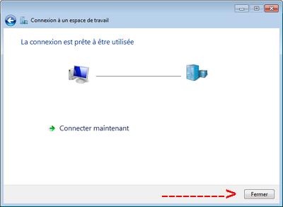 Connexion VPN ok