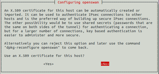 Configuring openswan