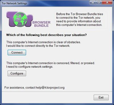 Tor Network Settings