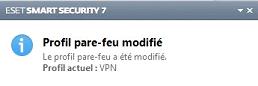 Eset modif pare-feu VPN
