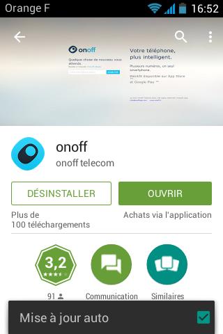 onoff App