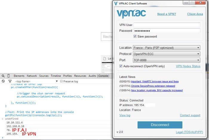 webrtc VPN