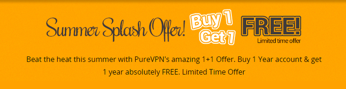 PureVPN Summer Splash Offer