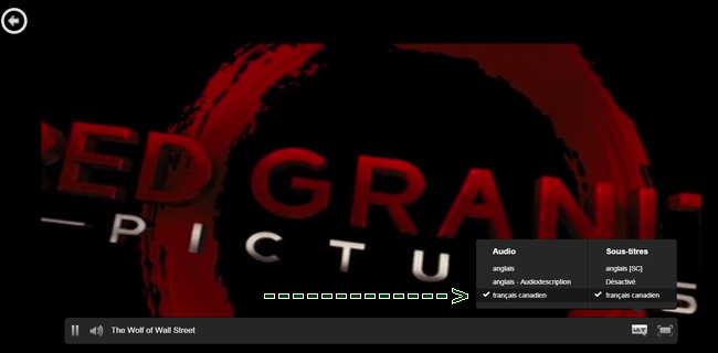 Netflix canada francais canadien