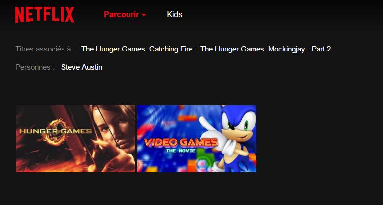 Netflix recherche belgique