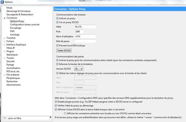 Torrent avec Proxy SOCKS5 d' IPVanish 9