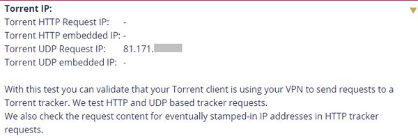 Torrent avec Proxy SOCKS5 d' IPVanish 25
