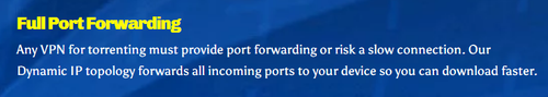 Full Port Forwarding