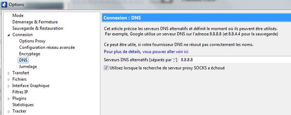 Torrent avec Proxy SOCKS5 d' IPVanish 11