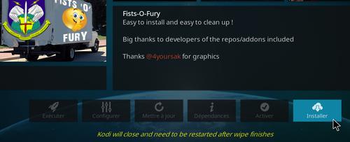 Fists-O-Fury - Extension Kodi pour les Adultes ! 14