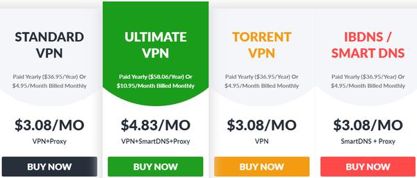 TOP VPN les moins chers 4