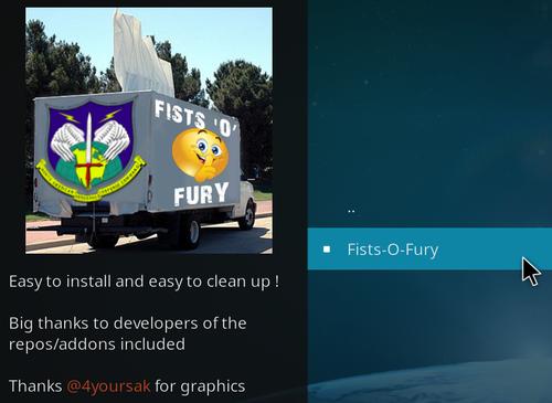 Fists-O-Fury - Extension Kodi pour les Adultes ! 13