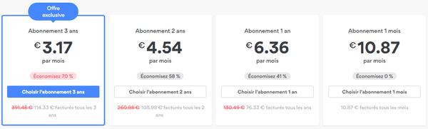 TOP VPN les moins chers 1