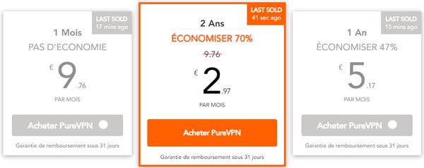 TOP VPN les moins chers 3