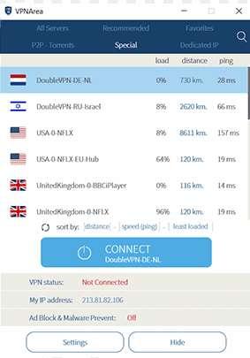 Double VPN et Multi HOP VPN 24
