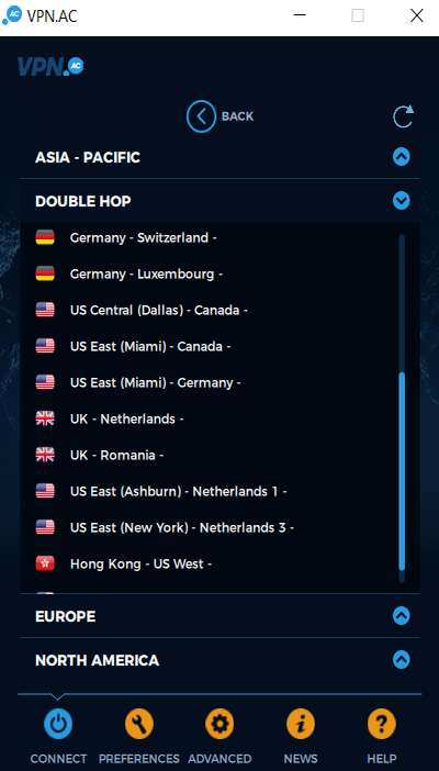 Double VPN et Multi HOP VPN 22