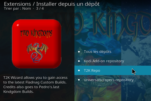 Addon Kingdom sur Kodi 19