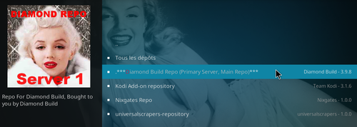 Extension Grease Lightning pour KODI 12