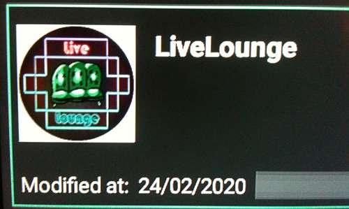 Live Lounge IPTV sur FireStick 7