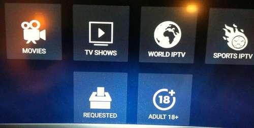 Live Lounge IPTV sur FireStick 8