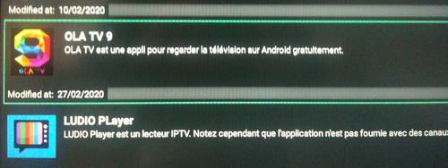 Ola TV IPTV sur FireStick 7