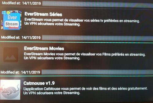 EverStream movies sur FireStick 7