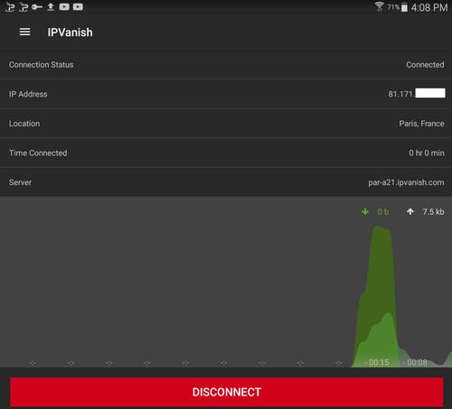 Test d' IPVanish et avis complet sur ce VPN 3