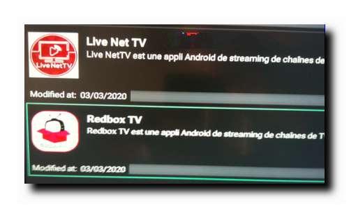 Redbox TV sur FireStick 8