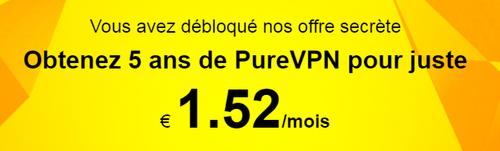 Codes Promo de PureVPN - Mars 2020 28