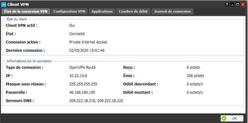 Private Internet Access sur Freebox Server (Client VPN) 15
