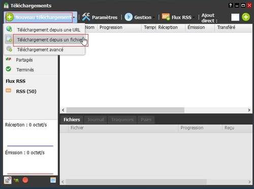 Télécharger depuis sa Freebox derrière un VPN 4